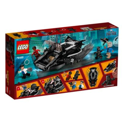 LEGO - Black Panther - Angriff des Talon-Jägers, Set76100