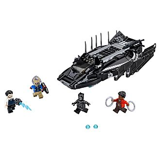 Ensemble LEGO 76100 Black Panther Talon Fighter Attack