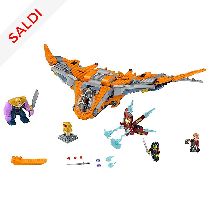 Set LEGO 76107 Thanos: La Battaglia Finale