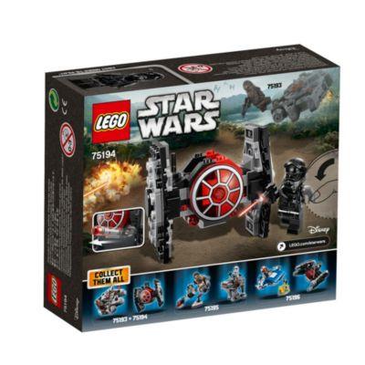 Ensemble LEGO 75194 Microvaisseau: Chasseur TIE du Premier Ordre