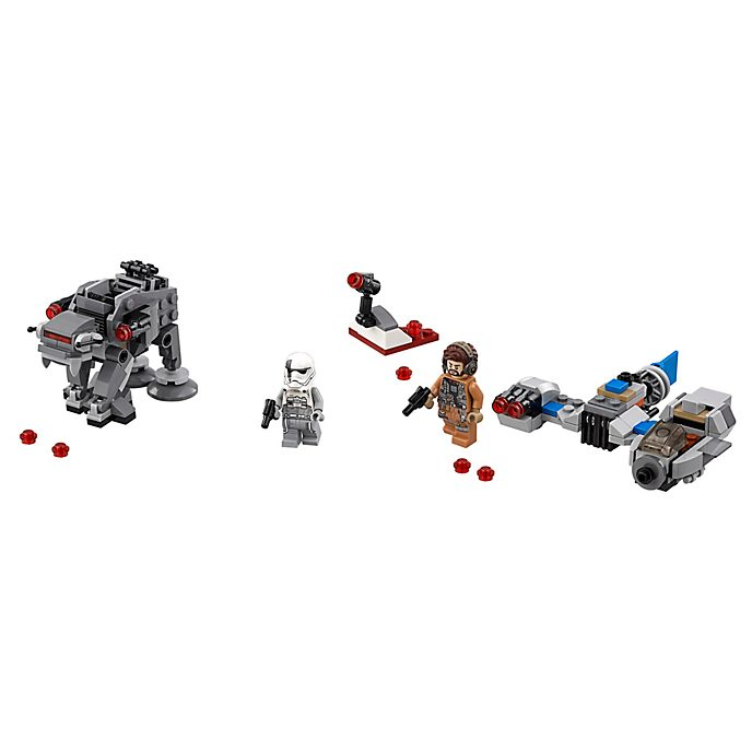 Set LEGO 75195 Ski Speeder contro Microfighter First Order Walker