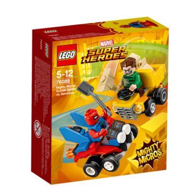 Ensemble LEGO 76089 Mighty Micros: Scarlet Spider contre Sandman