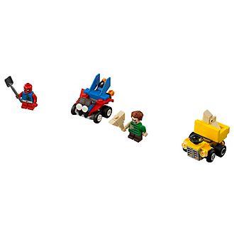 Set LEGO Mighty Micros 76089: Scarlet Spider contro l'Uomo sabbia
