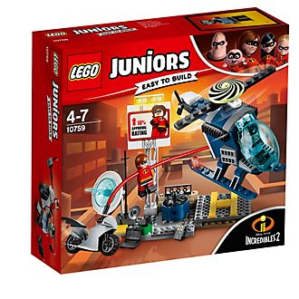 Ensemble LEGO Juniors 10759 Elastigirl's Rooftop Pursuit, Les Indestructibles 2
