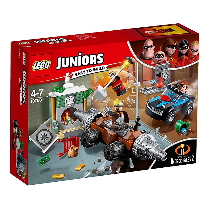 LEGO Juniors Incredibles 2 Underminer Bank Heist Set 10760
