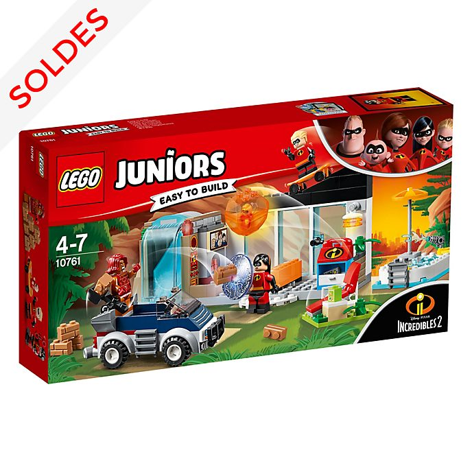 Ensemble LEGO Juniors10761The Great Home Escape, Les Indestructibles2