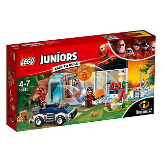 Set LEGO Juniors 10761 La grande fuga dalla casa Gli Incredibili 2
