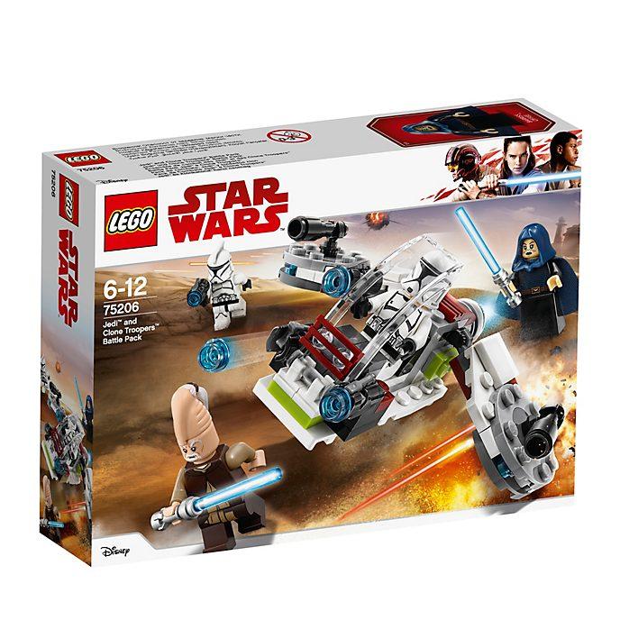 Ensemble LEGO Star Wars75206Pack de combat des Jedi™ et des Clone Troopers™