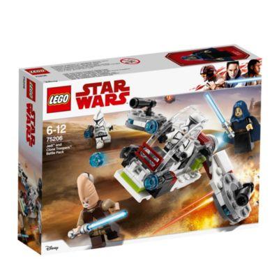 Set LEGO Star Wars 75206 Confezione battaglia Clone Tropper e Jedi