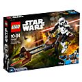 LEGO Star Wars 75532 set Scout Trooper e Speeder Bike