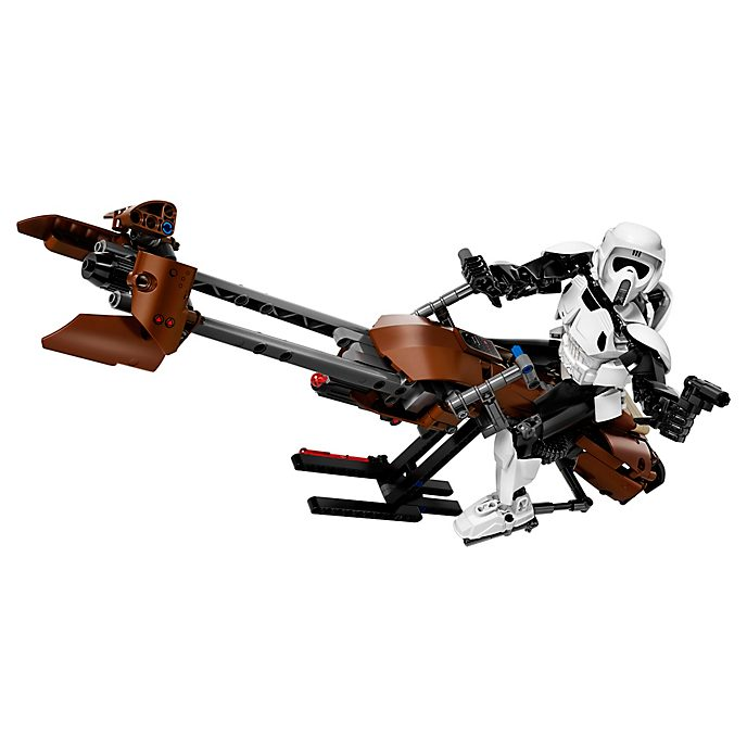 LEGO - Star Wars - Scout Trooper und Speeder Bike - Set 75532