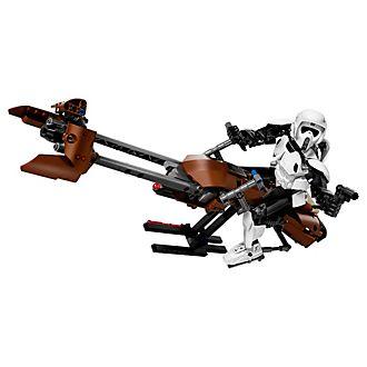 LEGO Star Wars Soldado de reconocimiento y moto speeder (set 75532)