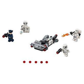 LEGO Star Wars 75166 set Battle Pack Speeder da trasporto del Primo Ordine
