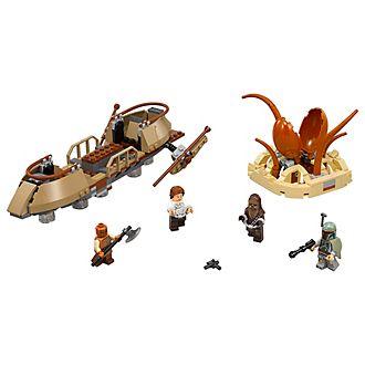 LEGO Star Wars 75174 set Fuga dal deserto sullo skiff