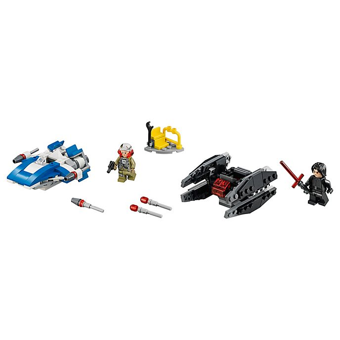 LEGO - A-Wing vs. TIE Silencer Microfighters - Set 75196