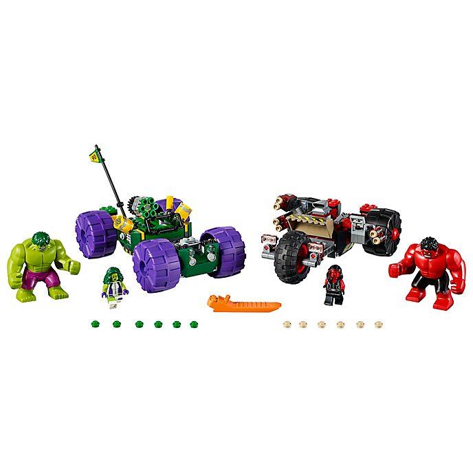 LEGO - Marvel Super Heroes - Hulk gegen Red Hulk - Set76078
