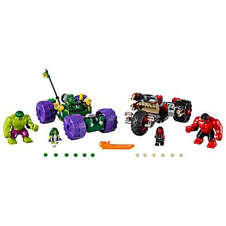 Set LEGO Marvel Super Heroes 76078 Hulk contro Red Hulk