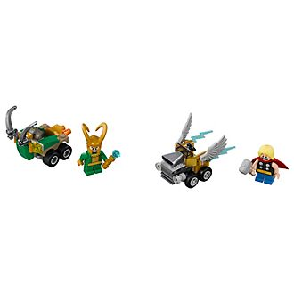 Set LEGO Marvel Super Heroes 76091 Mighty Micros: Thor contro Loki