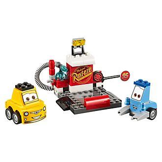 Set LEGO Juniors 10732 Il Pit Stop di Guido e Luigi
