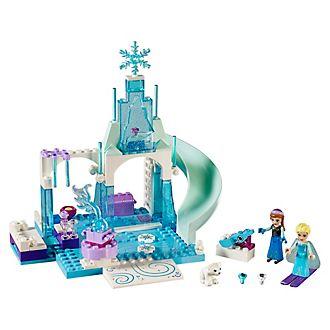 Set LEGO Juniors 10736 Il castello di ghiaccio di Elsa e Anna Frozen - Il Regno di Ghiaccio