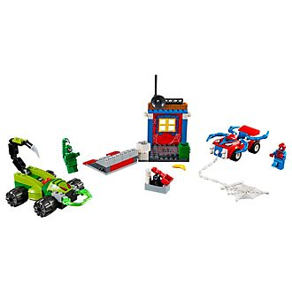 Ensemble LEGO Juniors 10754 Spider-Man vs. Scorpion Street Showdown