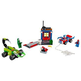 Set LEGO Juniors 10754 Spider-Man contro Scorpione: resa dei conti finale