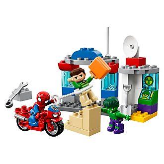 Aventuras Spider-Man y Hulk, LEGO Duplo (set 10876)