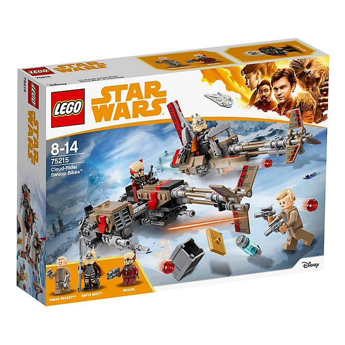 Set Swoop Bikes di Cloud-Rider LEGO 75215 Star Wars