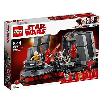 LEGO Star Wars sala del trono de Snoke (Set 75216)