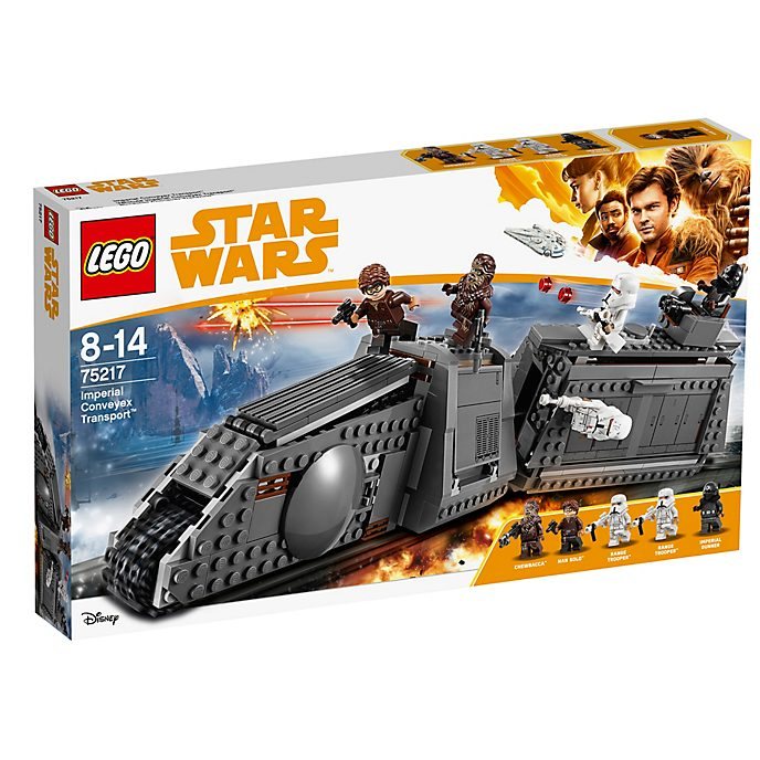 LEGO Star Wars set tren imperial Conveyex (set 75217)