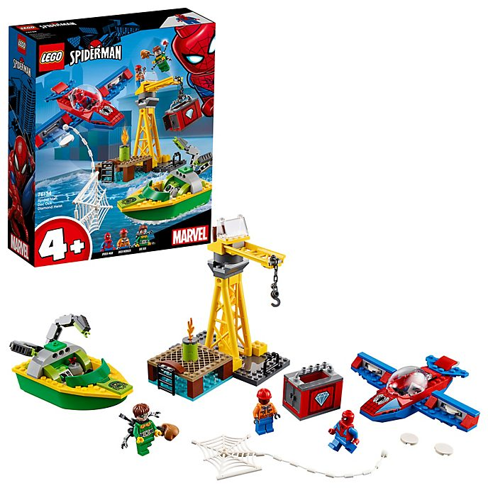 Set robo diamante Doctor Octopus, Spider-Man, LEGO