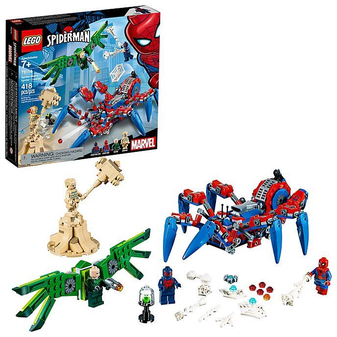 Set vehículo araña Spider-Man, Lego