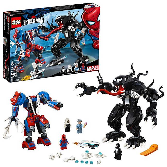 Contra Spider Man Robots Set VenomLego tQrdhs