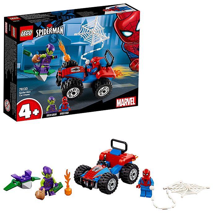Set inseguimento auto LEGO Spider-Man