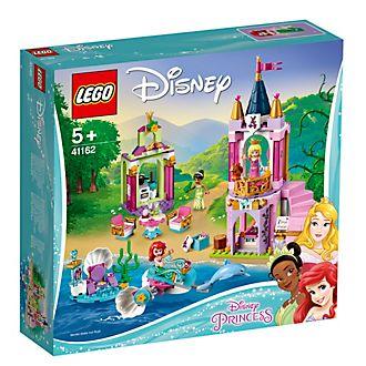 LEGO Disney Princess Celebración real de Tiana, Aurora y Ariel (set 41162)