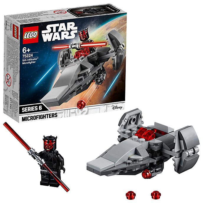 LEGO - Star Wars - Sith Infiltrator Microfighter - Set 75224