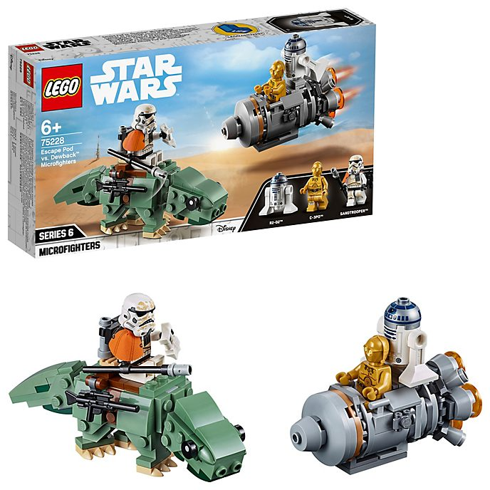 LEGO Star Wars Microfighters: Cápsula de escape contra cazas Dewback (set 75228)