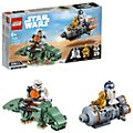 Set LEGO 75228 Microfighter Capsula di salvataggio contro Dewback Star Wars