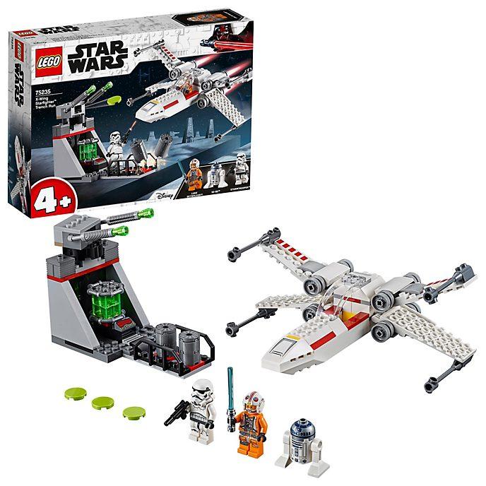 LEGO Star Wars Caza estelar ala-X de la Persecución en la trinchera (set 75235)
