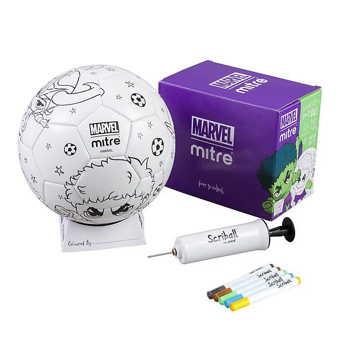 Balón para colorear Scriball Hulk, Mitre
