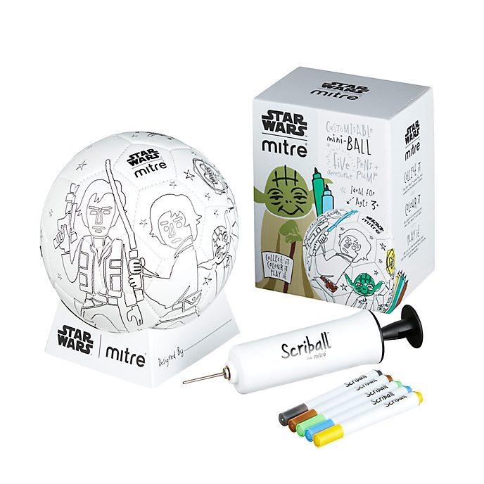 Minibalón para colorear Scriball Yoda, Star Wars, Mitre