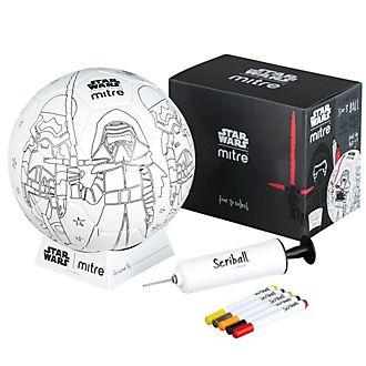 Balón para colorear Scriball Kylo Ren, Star Wars, Mitre