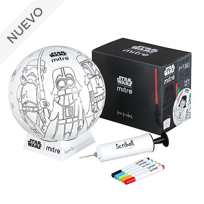 Balón para colorear Scriball Darth Vader, Star Wars, Mitre