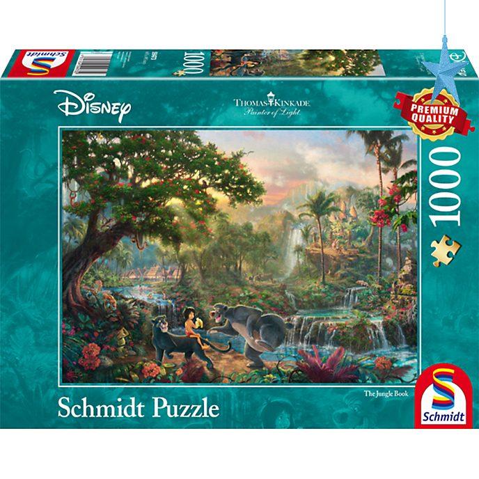 Puzzle 1000 pezzi Thomas Kinkade Il Libro della Giungla