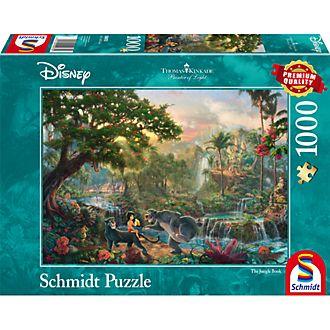 Thomas Kinkade The Jungle Book 1000 Piece Puzzle