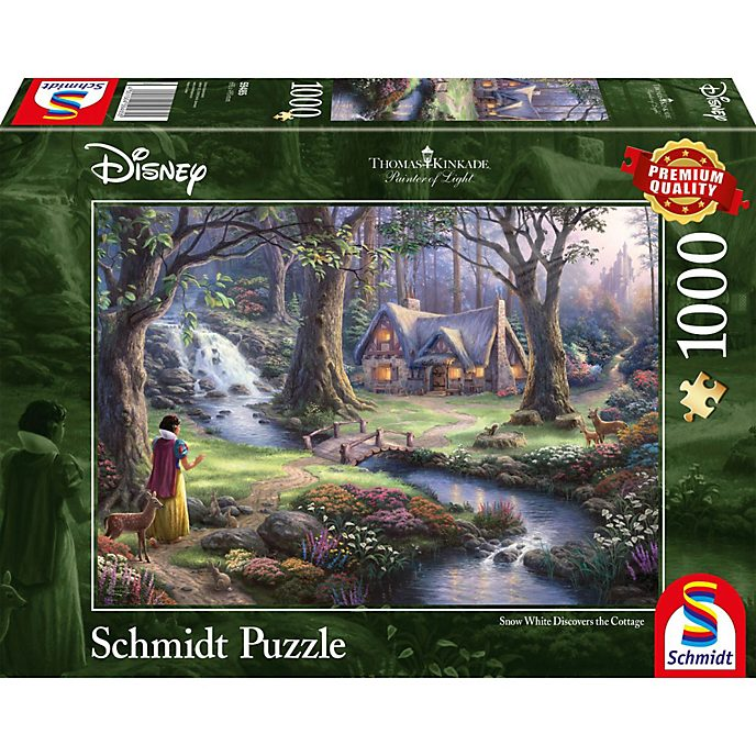 Thomas Kinkade Puzzle 1 000 pièces Blanche Neige