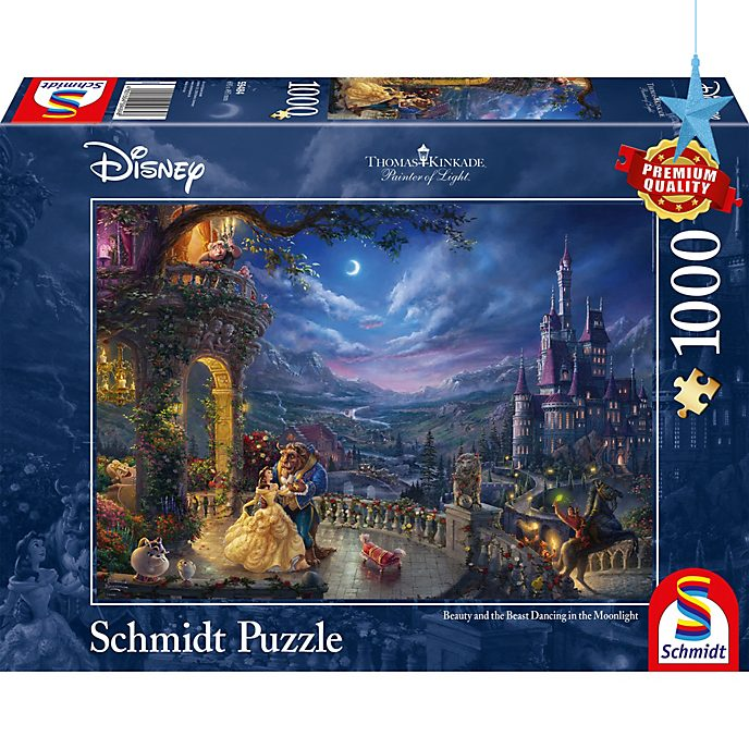 Thomas Kinkade Beauty and the Beast 1000 Piece Puzzle