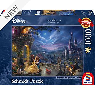 Thomas Kinkade Beauty and the Beast 1000 Piece Puzzle