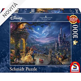 Puzzle 1000 pezzi Thomas Kinkade La Bella e la Bestia