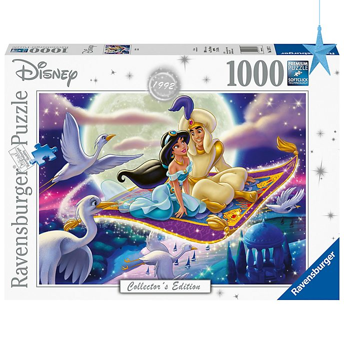 Puzzle 1000 pezzi edizione da collezione Aladdin Ravensburger